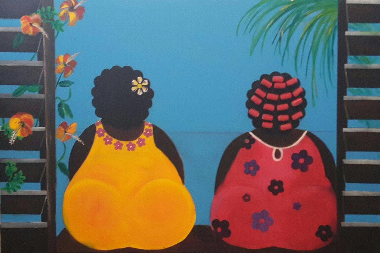 Workshop schilderen schilderles abstract figuratief for Dikke dames schilderen