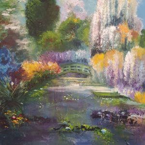 schilderen a la Monet