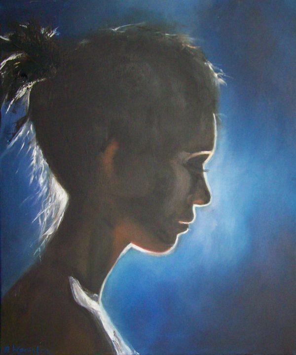 schilderij portret